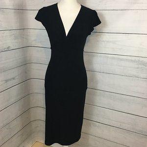 Wet Seal sz S V-Neck Back Tie Sleeveless Dress